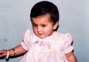 Childhood photo of Taapsee Pannu