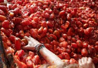 La Tomatina Festival always takes place on the last Wednesday in August.