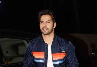 Actor Varun Dhawan was looking stylish as always. He donned a blue jacket and was all smiles. However, he and his rumoured girlfriend Natasha Dalal didn't come together. After the trailer of the film was released, Varun received positive response for his character Badri.