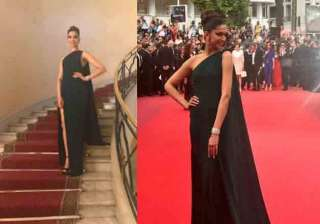 Deepika wore Brandon Maxwell gown and her smoky eyes grabbed all the attention. She was looking drop dead gorgeous in green. The actress walked the red carpet as the global cosmetic giant L'Oreal Paris.