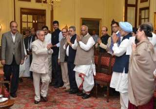 Other leaders who walked with Sonia included former Prime Minister Manmohan Singh, CPM's Sitaram Yechury, CPI's D Raja, Trinamool Congress leader Derek O'Brien and Dinesh Trivedi, Samajwadi Party's Ramgopal Yadav, DMK's Kanimozhi, INLD's Dushyant Chautala and the RJD's Prem Chand Gupta.