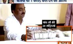 Narendra Patel alleged that he was offered Rs 1 crore to