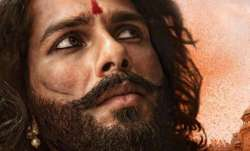 Shahid Kapoor opens up on Padmavati trailer
