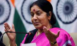 File pic of Sushma Swaraj