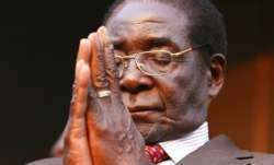 File photo of Robert Mugabe.