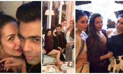 Inside pics from Malaika Arora's pre-Christmas dinner party