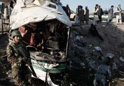 Suicide bomb attack in the eastern city of Jalalabad