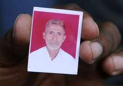 Akhlaq was lynched over a rumour that he and his family had