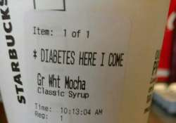 The comment on the receipt