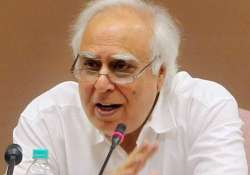 Kapil Sibal has denied any wrongdoing