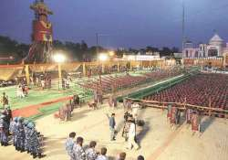 Ramlila Ground at Aishbagh in Lucknow set for PM Modi's