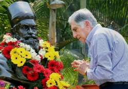 Rata Tata pays homage to Tata Steel founder J N Tata on