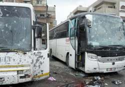 Rebels claim responsibility for twin Damascus bombings that