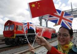 First 'Silk Road' train from Britain to China begins