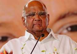 File pic of NCP president Sharad Pawar