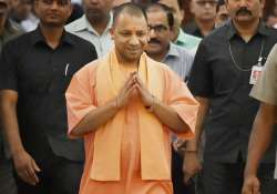 CM Aditiyanath walks to attend the UP Assembly session in- India Tv