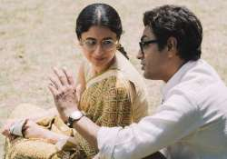 Manto: First pic of Nawazuddin Siddiqui and Rasika Dugal- India Tv