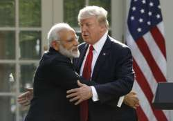 PM Modi with Donald Trump