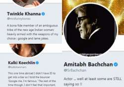 indian celebrities twitter bios