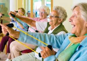 Laughter-based exercise may boost health in the elderly,- India Tv