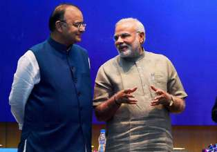 File pic of FM Arun Jaitley and PM Narendra Modi- India Tv