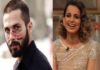 Shahid Kapoor and Kangana Ranaut - India TV