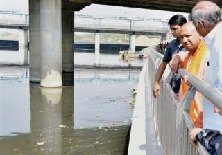 Akhilesh Yadav's Gomti riverfront project under...