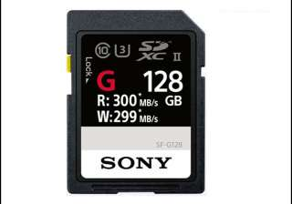 Sony launches 'world's fastest' SD card, super...