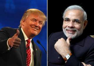 Donald Trump, Narendra Modi - India TV