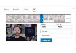 youtube will soon allow you to make gifs from videos