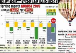 wholesale price index dips to historic 4.95 pressure on rbi