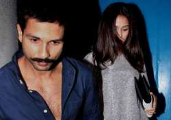 spotted the adorable couple shahid kapoor and mira rajput