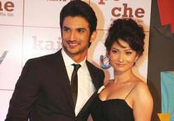 love is in the air for sushant singh rajput and ankita