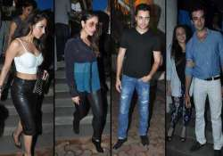 kareena malaika dazzled at gori tere pyar mein wrap up