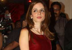 sussanne roshan prefers work as peace therapy post split