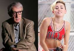 woody allen casts miley cyrus in upcoming amazon series