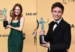 21st annual sag awards and the winners are...