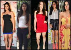 star daughters who love to flaunt legs in short dresses see