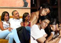 barack obama shah rukh khan win the most admired dad title