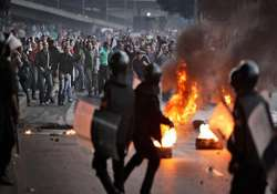 egypt unrest interim president meets army chief 36 killed