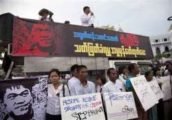 signs of torture on body of slain myanmar reporter
