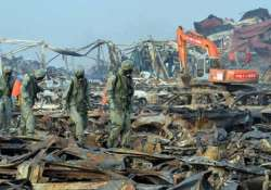4 new fires erupt in china s tianjin port disaster area