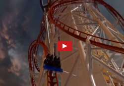 the virtual ride on world s newest tallest roller coaster