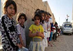 over five million kids affected by syria conflict unicef