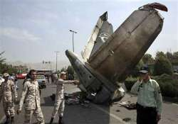 iran airliner crashes 48 dead