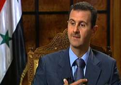 syria s future must be determined by syrians assad