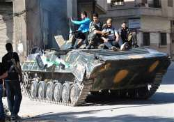 syrian troops kill 20 rebels in homs province