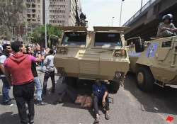 20 killed in clashes outside egyptian defence ministry
