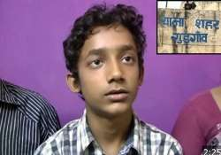 courage 14 year old gurgaon boy fights kidnappers escapes