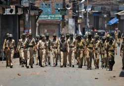 curfew lifted from all kashmir towns except shopian